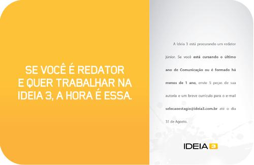 Anúncio Idéia 3