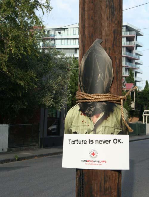 Tortura nunca é a melhor solução