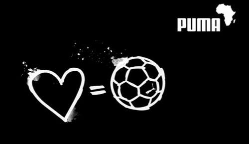 Amor pela namorada e pelo futebol