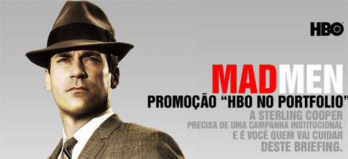 Coloque Mad Men e a HBO no portfólio