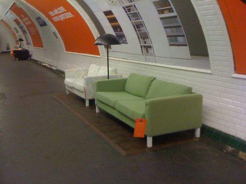 Ikea leva conforto ao metrô