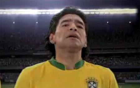 Sessão Nostalgia: Guaraná Antarctica e Maradona