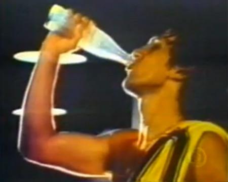 Sessão Nostalgia: Zico e Coca Cola