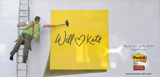 Will, Kate e 3M juntos para sempre