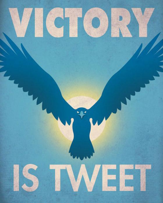 Cartazes de guerra das redes sociais