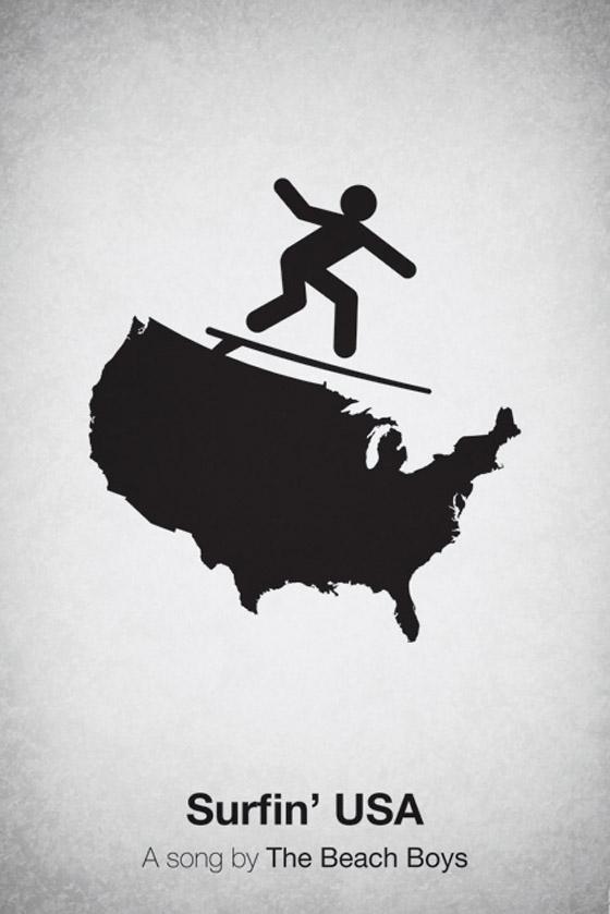 Cartaz de The Beach Boys - Surfing ia a USA