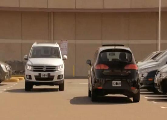 Duelo de estacionamento