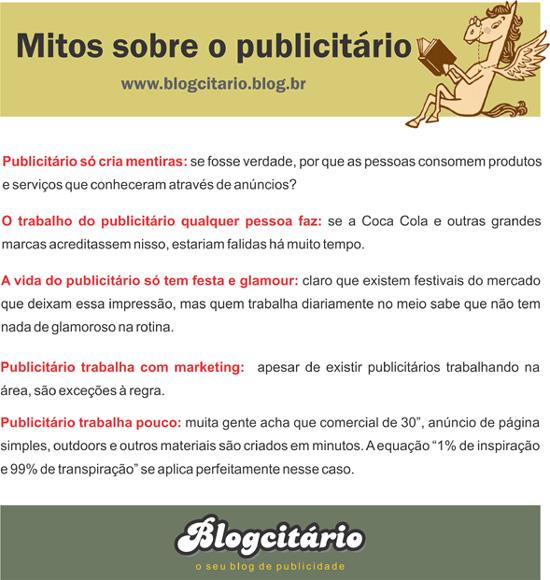 Mitos sobre o publicitário