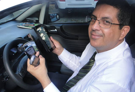 Gerenciamento de mídias sociais do @taxidesalvador