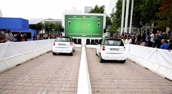 Ping Pong entre carros