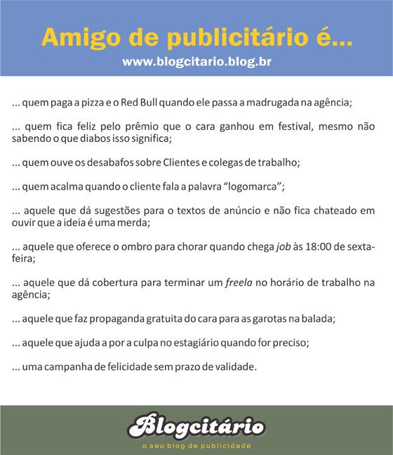 Dia do Amigo do Publicitário