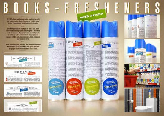 Books fresheners