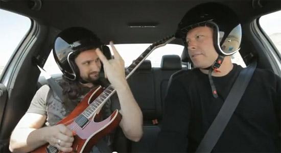 Teste de velocidade com rock