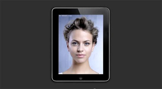 iPad contra a violência da mulher