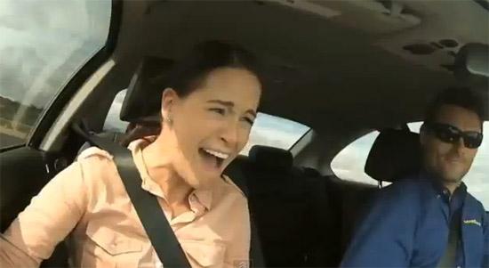 Test drive com adrenalina