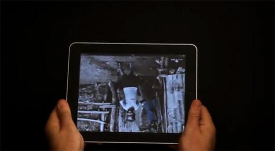 Anúncio para ActionAid para iPad