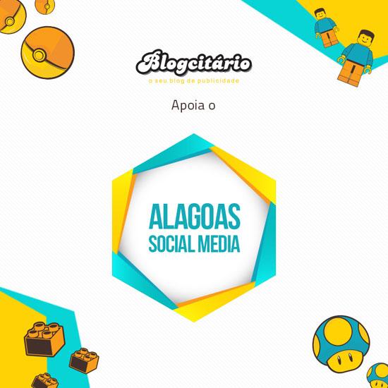 Eu vou para o Alagoas Social Media. E você?