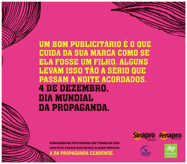 Anúncios sobre o Dia Mundial da Propaganda