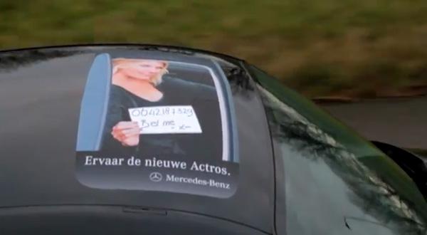 Adesivo publicitário para caminhoneiros