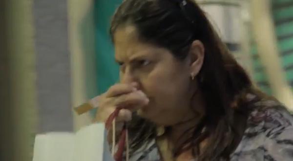 Fragrância de um fumante