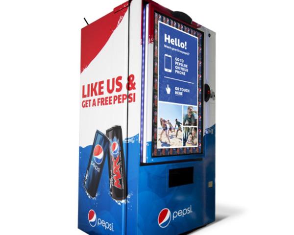 Pepsi grátis para fãs do Facebook
