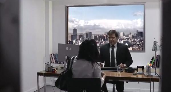 Realidade da LG em ultra HDTV