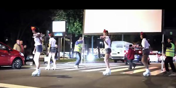 Curta metragem no semáforo
