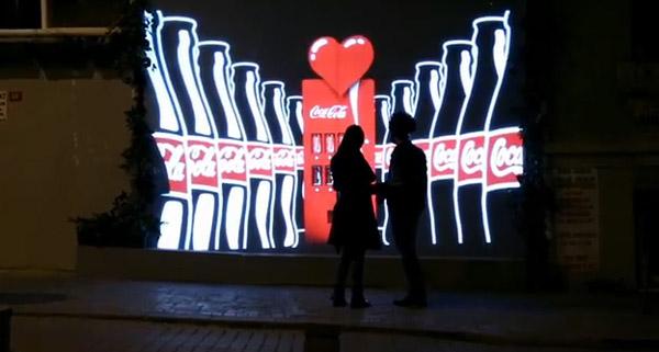 Vending machine exclusivo para namorados