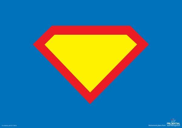 Seis anúncios com super heróis