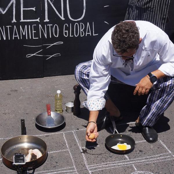 Cozinhando com aquecimento global