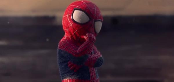 O espetacular Homem Aranha baby