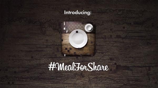 Instagram contra a fome