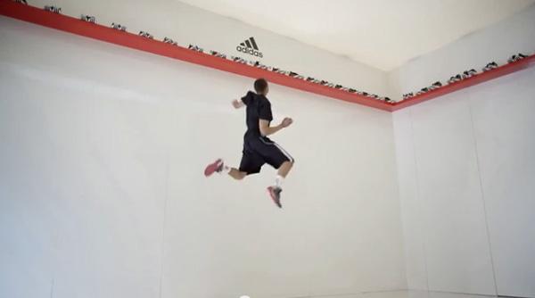 O salto da vitória