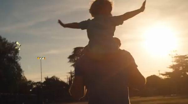 Dia dos pais pela visão da Dove