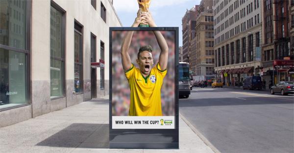 Mobiliário pergunta quem será o campeão da Copa do Mundo 2014?