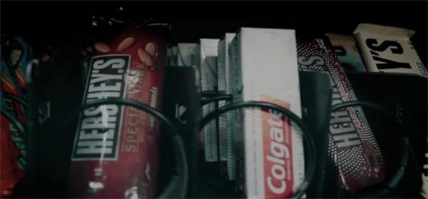 Vending Machine de doces contra as cáries