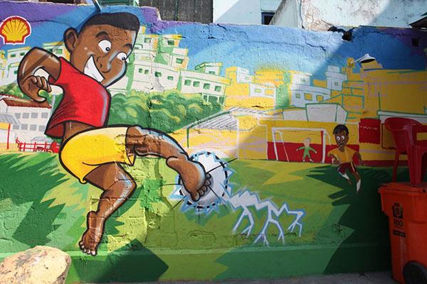 O grafite e a publicidade