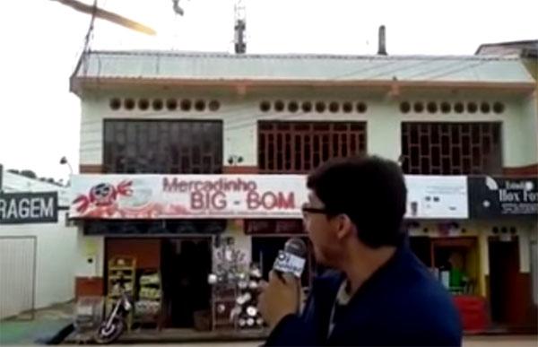 A tosqueira viral do mercadinho Big Bom