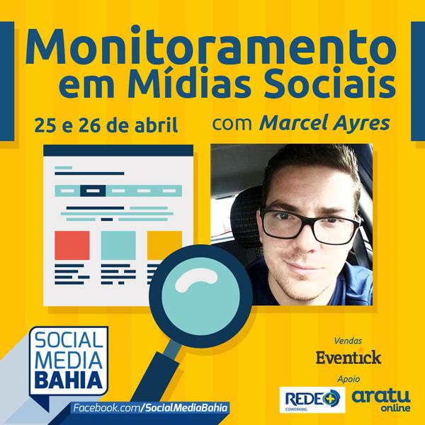 Inscreva-se no workshop de Monitoramento em Mídias Sociais – Salvador