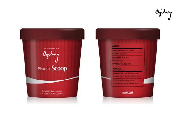 Agências de publicidade em forma de sorvete