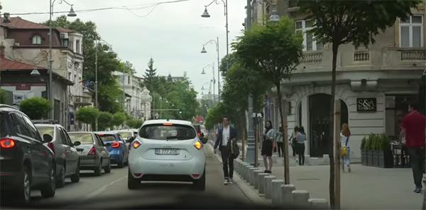 Ação publicitária com apoio do Uber