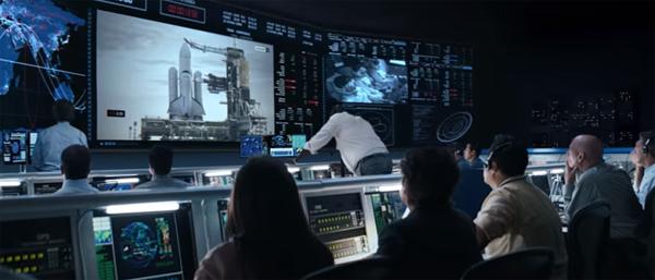 E se um lançamento espacial fosse feito por publicitários?