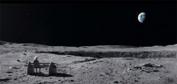 Campanha de Natal da John Lewis sobre um homem na lua