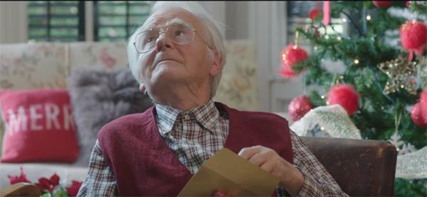 O presente mais tocante do Natal para o seu avô