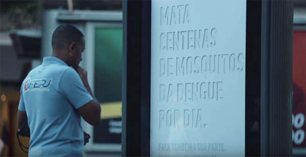 Publicidade que mata o Aedes Aegypti