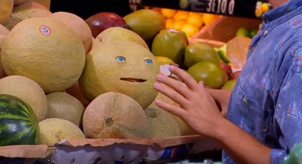 Frutas ganharam vida para divulgar animação para cinema