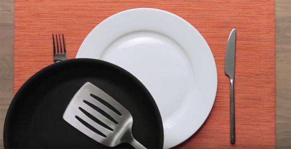 Vídeo com receita sobre a fome